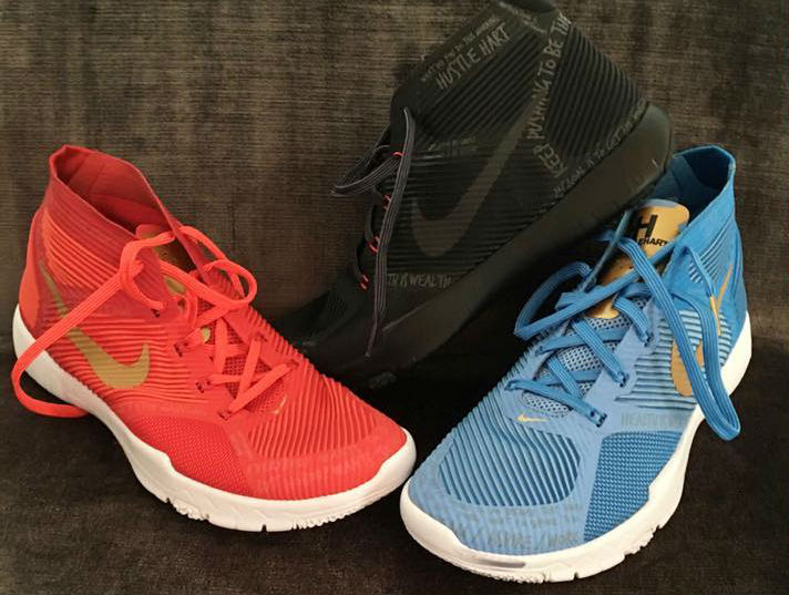 b53fd7cf62dd8 Kevin Hart Brought a New Colorway of His Signature Nike Sneaker to ...