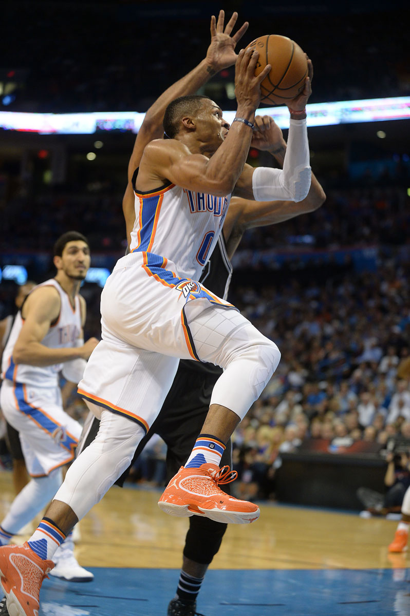 SoleWatch  Russell Westbrook Is Still Wearing Air Jordan XX9 PEs ... 1f1f234a9
