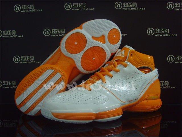 a36a338b56d5 adidas adiZero Rose - White Orange