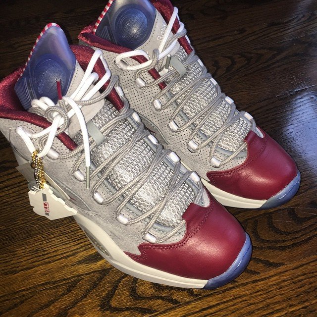 DJ Funk Flex Picks Up VILLA x Reebok Question A Day in Philly