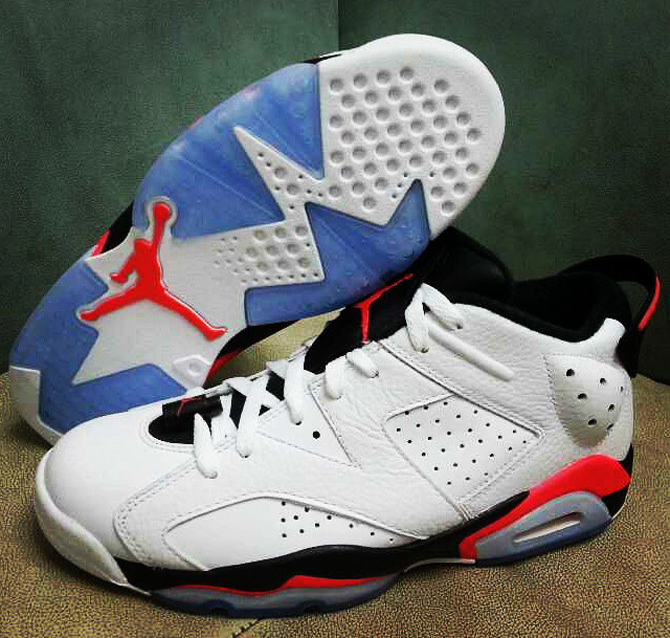 on sale 7efe2 1bf0c A Look at the Air Jordan 6 Low  Infrared  On-Foot   Sole Collector