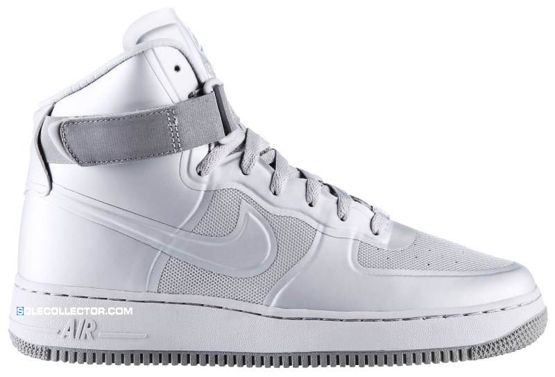 Nike Air Force 1 Hi Hyperfuse Premium Neutral Grey Medium Grey 454433-001