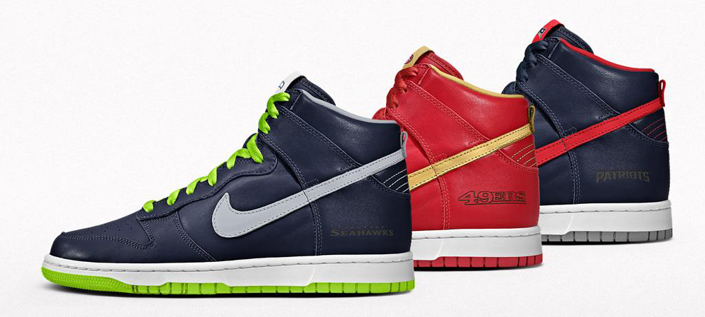 NIKEiD NFL Football Dunks