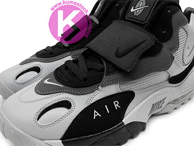 sale retailer f2f2d da752 Nike Air Max Speed Turf Wolf Grey Black Dark Grey Metallic Silver  525225-012 (