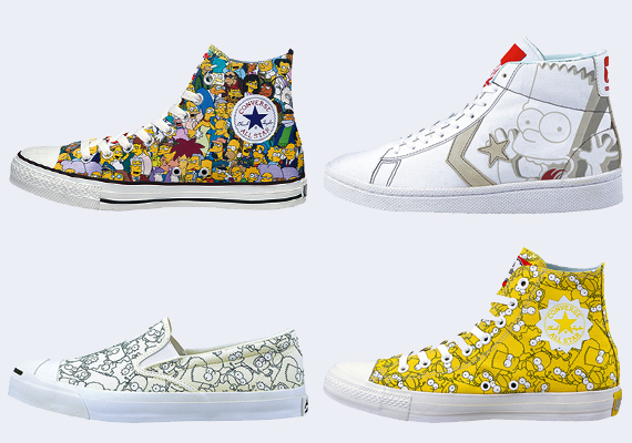 607035f92dae4a The Simpsons x Converse Spring 2014 Collection is now available via select  Converse retailers in Japan. Stay tuned to Sole Collector for details on a  ...