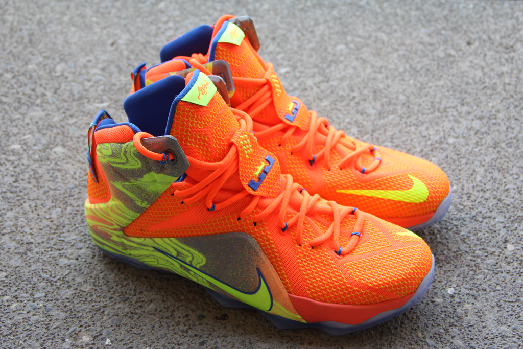 buy popular a348e 87499 A Detailed Look at the  Six Meridians  Nike LeBron 12