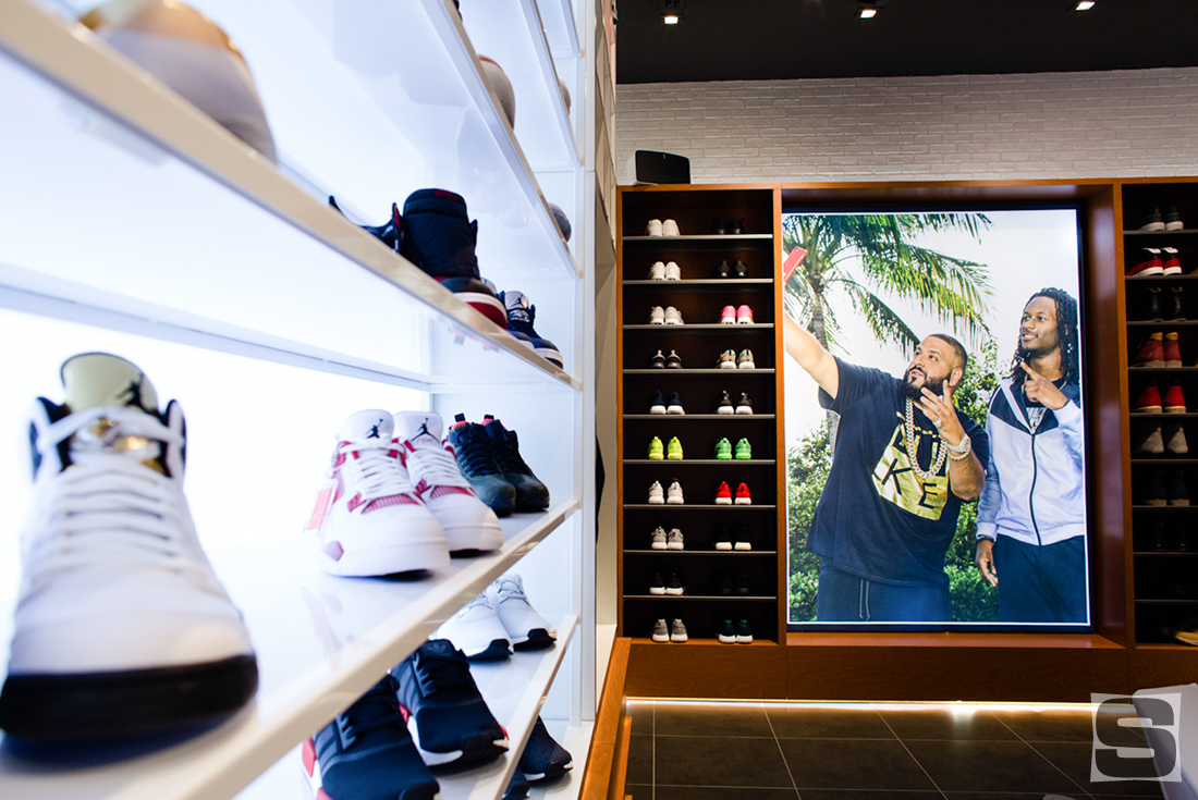 DJ Khaled Miami Champs Sports Store