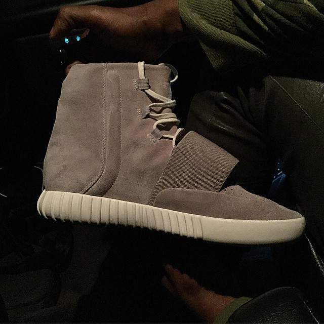 adidas Yeezy 3 Grey Boost (4)