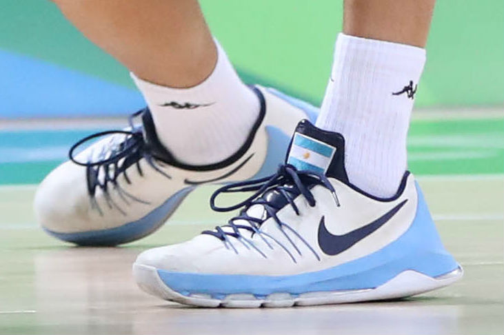 a36c95bafe20 Manu Ginobili Argentina Nike KD 8 Home Shoes
