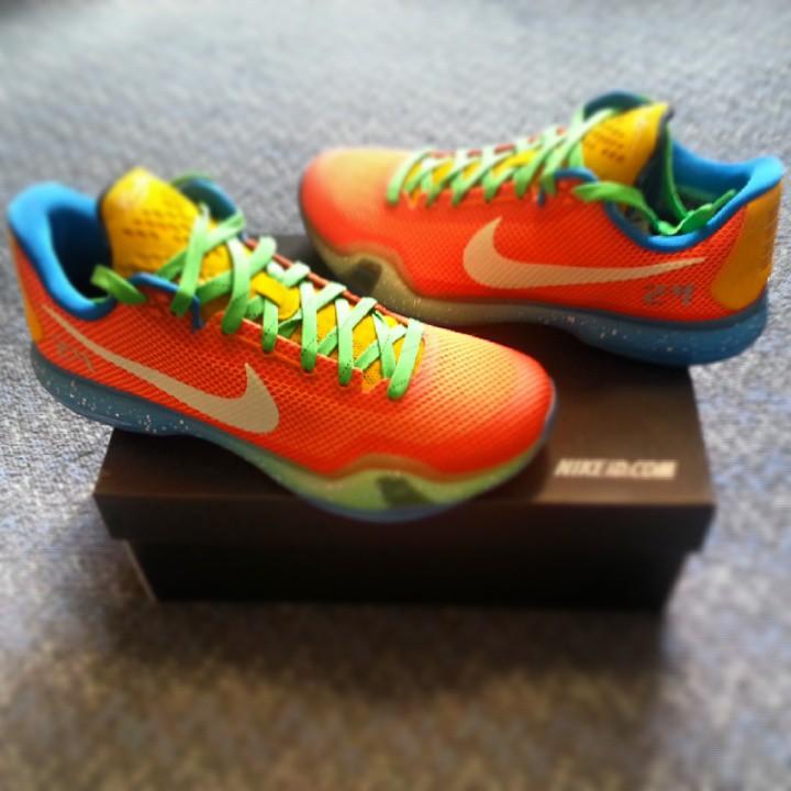 new style adb36 a446a Nike iD Kobe 10 What The