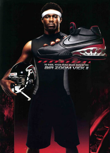 Michael Vick for Nike Air Zoom Vick II