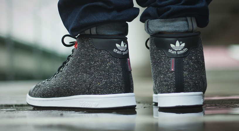 adidas stan smith mid schoenen