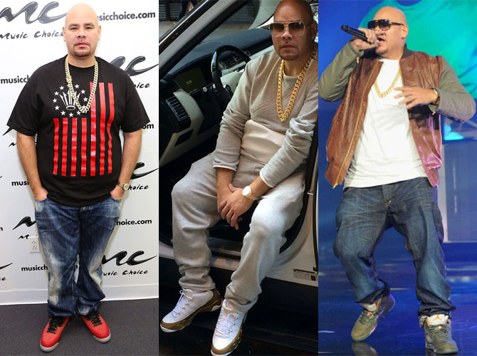 Celebrity Sneakerhead: Fat Joe