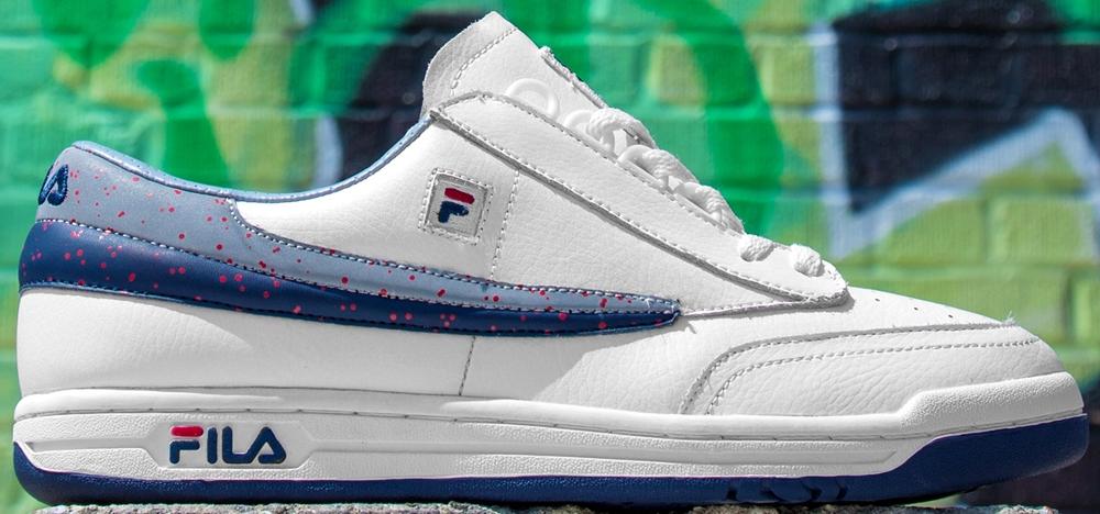 Fila Original Tennis White/Fila Navy-Fila Red
