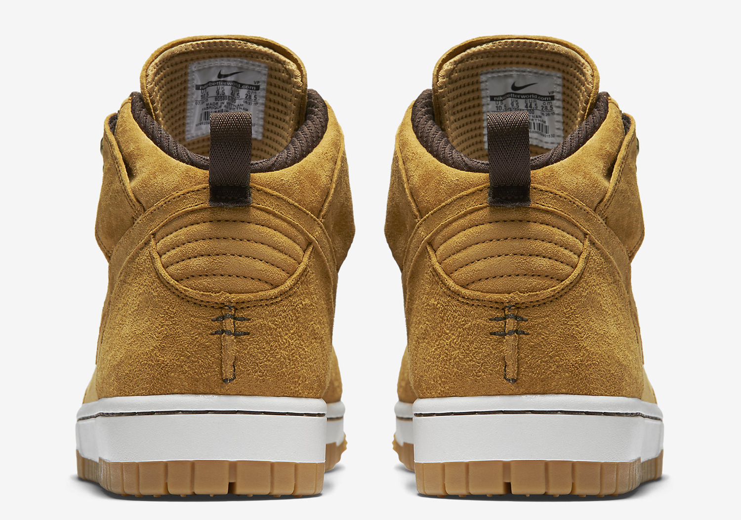 the best attitude 03946 1a6b7 Nike Just Released a  Wheat  Dunk Sneakerboot