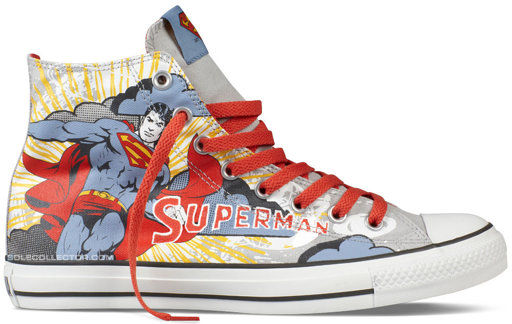 DC Comics x Converse Chuck Taylor All Star Superman