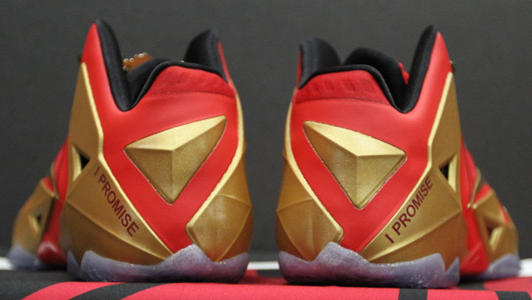 Nike LeBron 11 XI 'Ring Night' PE (2)