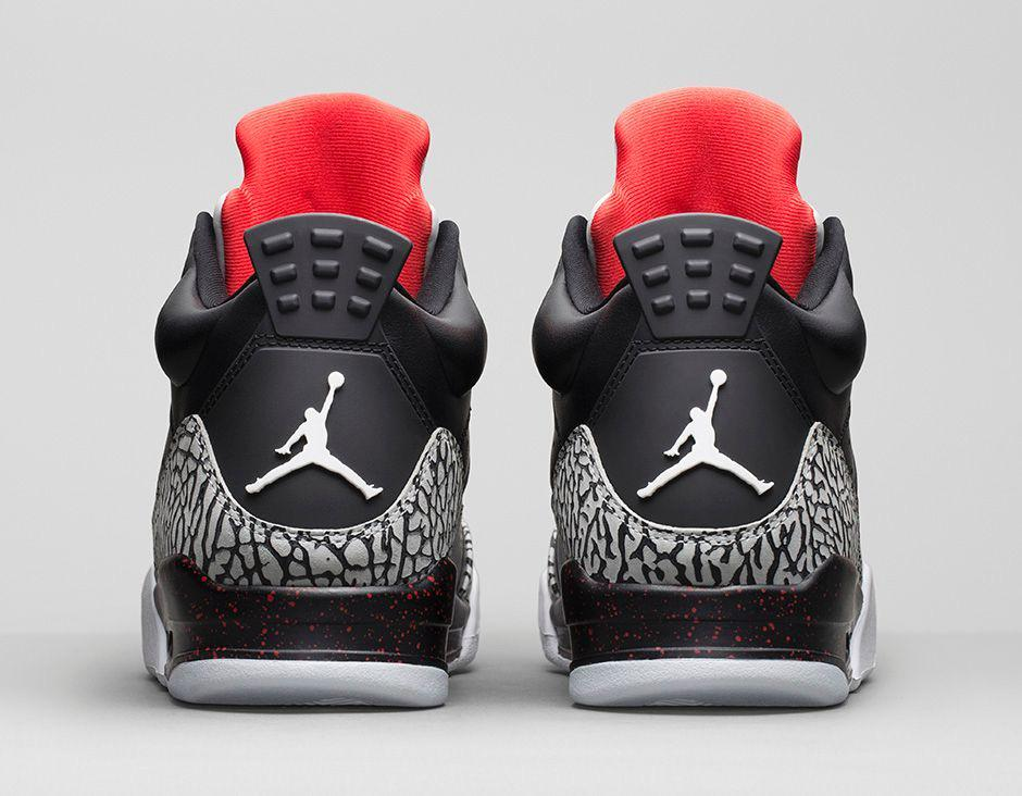 air jordan son of mars low black