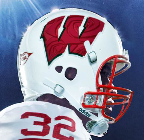 adidas Wisconsin Rose Bowl Uniforms Unveiled (2)