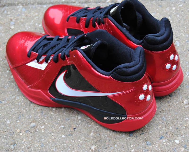 760cf18d2104 Nike Zoom KD III 3 Mike Miller Varsity Red White Black 417279-601 C
