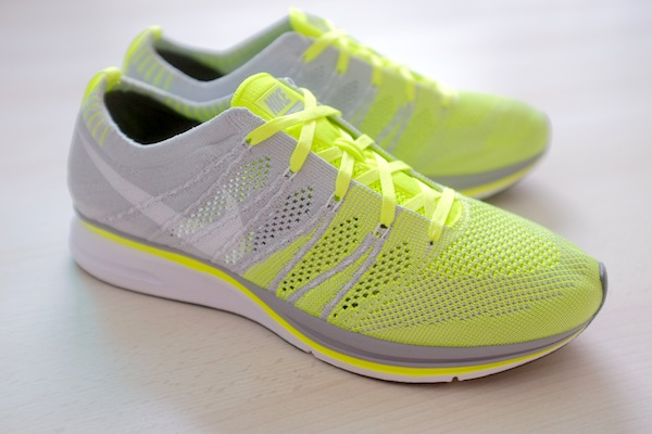a0875ade0806 Nike Flyknit Trainer - Volt Grey-White