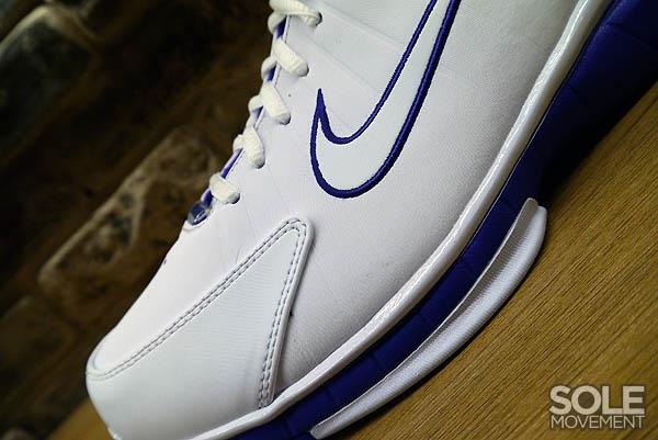cheap for discount ba950 67fd4 Nike Air Zoom Huarache 2K4 White Metallic Silver Pro Purple 511425-115 (4)