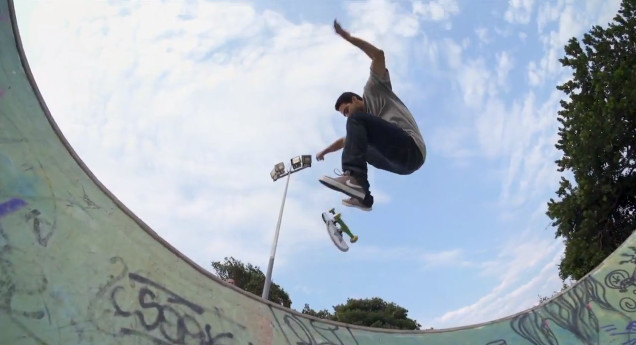 Luan Oliveira welcomes P-Rod and the Nike Skateboarding team to Brazil. 82bd100eb