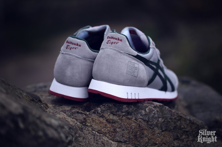 The Good Will Out x Onitsuka Tiger X-Caliber Silver Knight heel