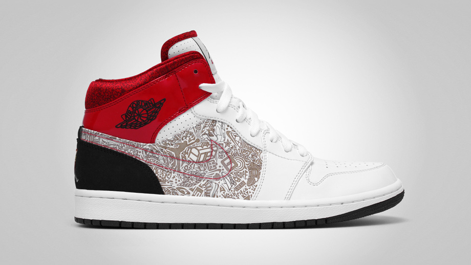 new product d6e9c d3853 The History of Laser Etched Air Jordans   Sole Collector