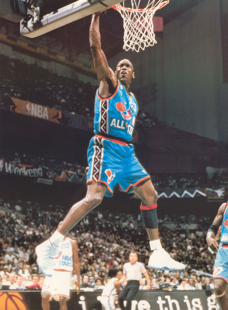 #2350 // 50 Classic Michael Jordan All-Star Game Photos (1)