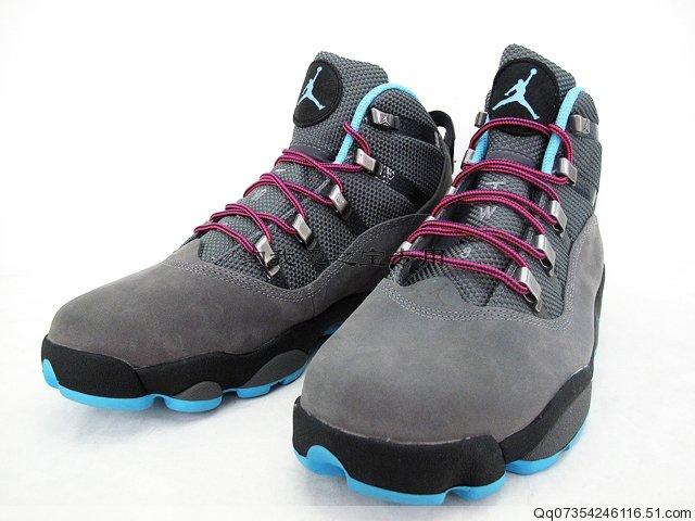 best authentic 72882 c4e29 Jordan 6 Rings Winterized Cool Grey Chlorine Blue Black Spark 414845-002 ...