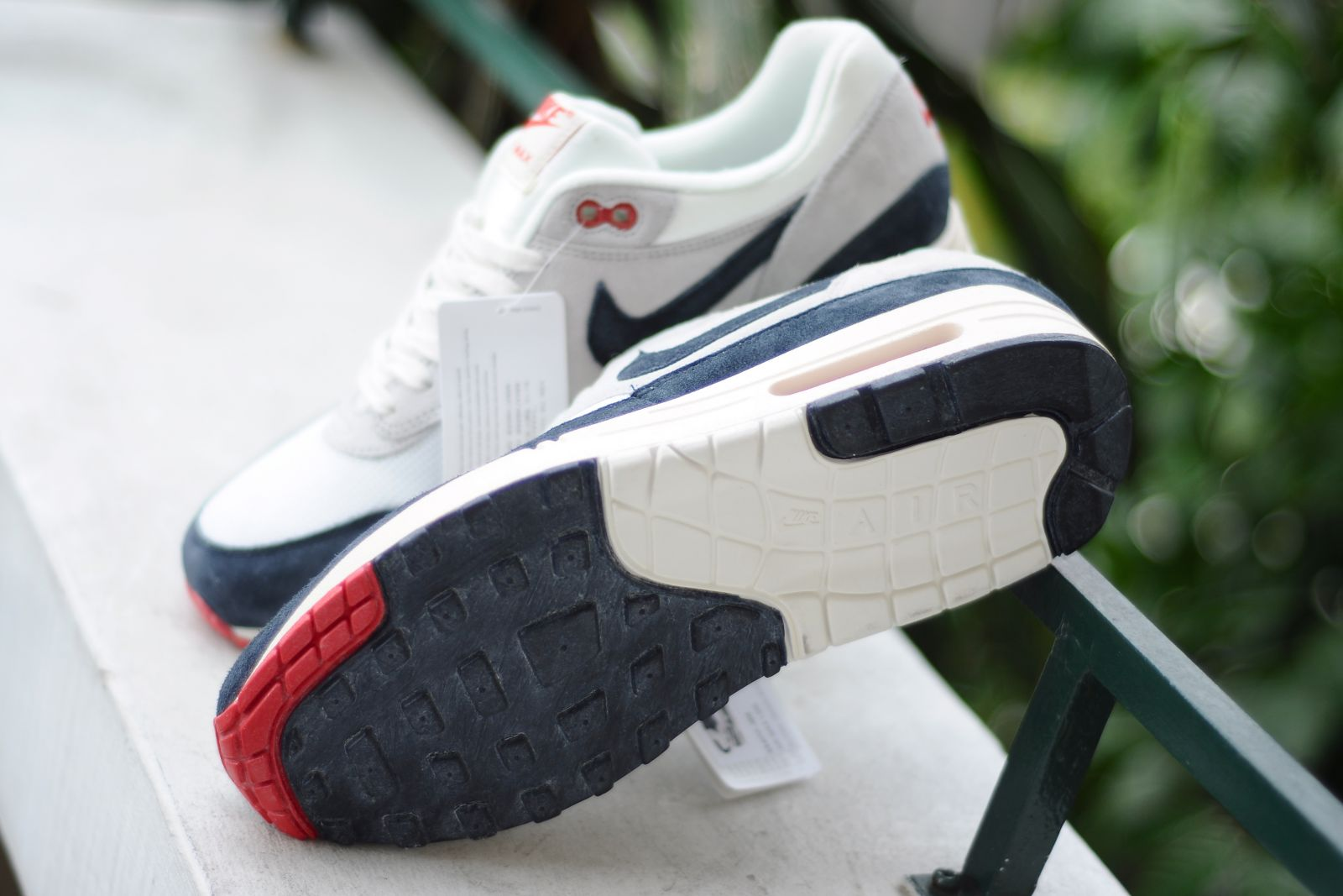 Nike Air Max 1 OG VNTG - White Navy-Red  fdf6e219a6a0