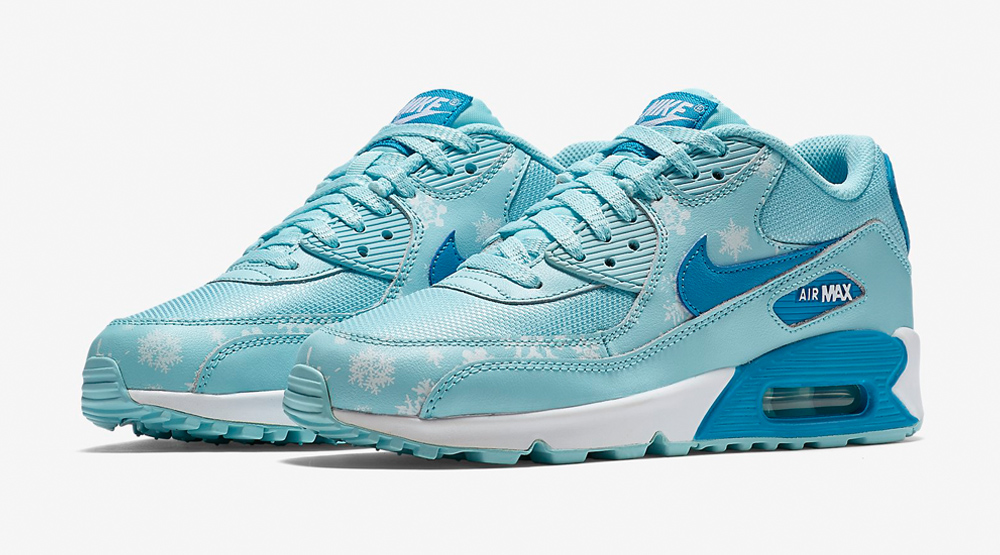 finest selection 37500 9f309 Snowflake Air Max 90s Images via Nike