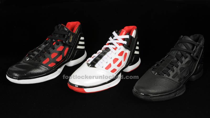 the latest 4d329 6858e adidas adiZero Rose 2.0 - Three Colorways - October 2011
