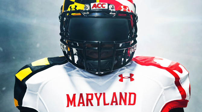 Under Armour Maryland Uniforms