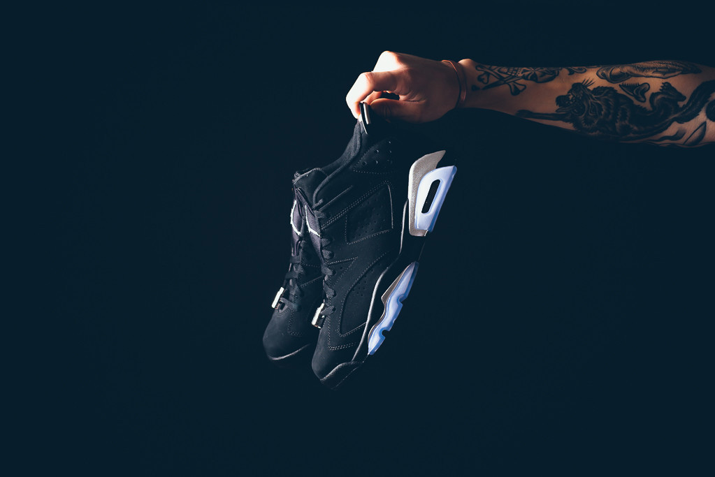 Air Jordan 6 Low Black/Chrome 304401-003 (6)