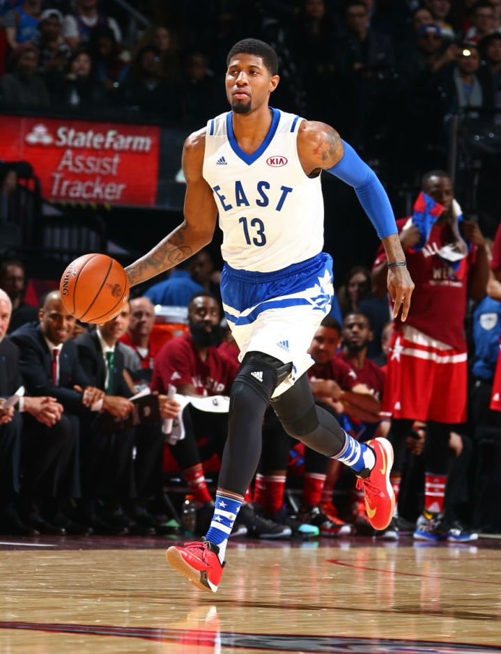 Paul George Wearing the Nike HyperLive (1)
