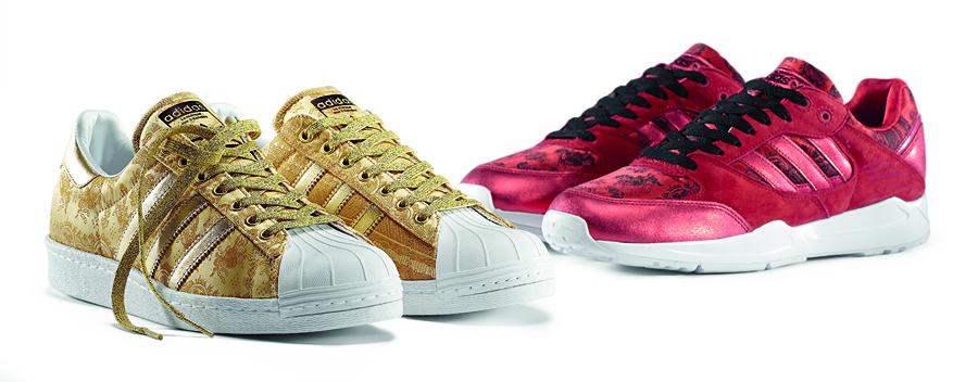 68d8f4578d3e1 adidas Originals Chinese New Year Pack - Superstar and Tech Super ...