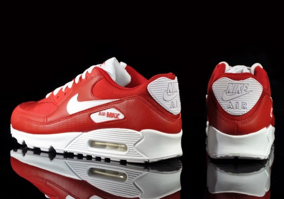 new product fc208 7a112 Nike Air Max 90 SI - Varsity RedWhite  Sole Collector
