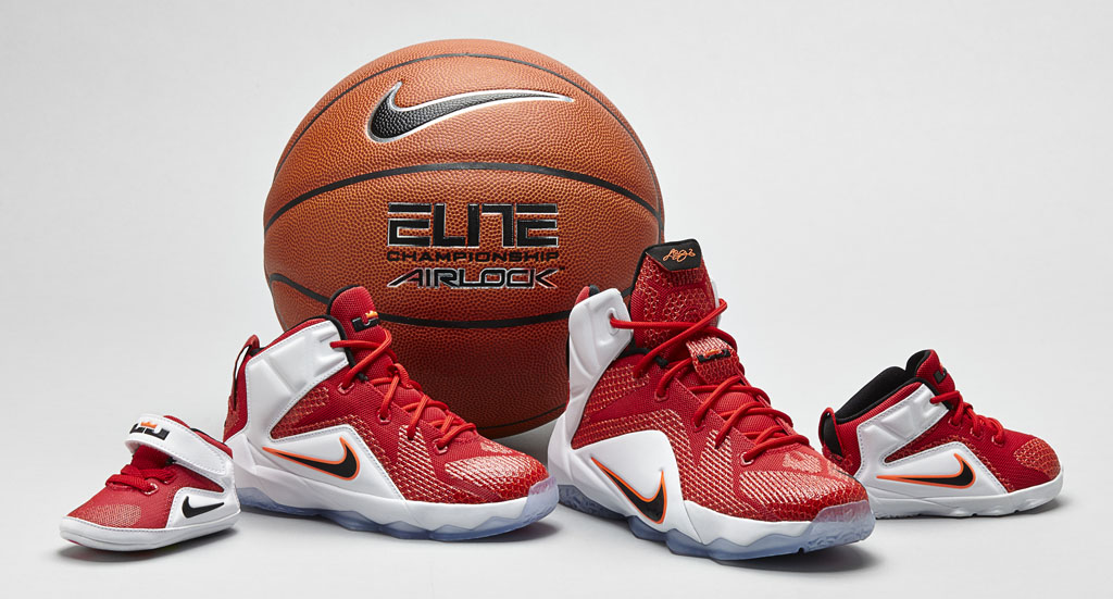 Nike Lebron Xii 12 Kids Heart Of A Lion 2
