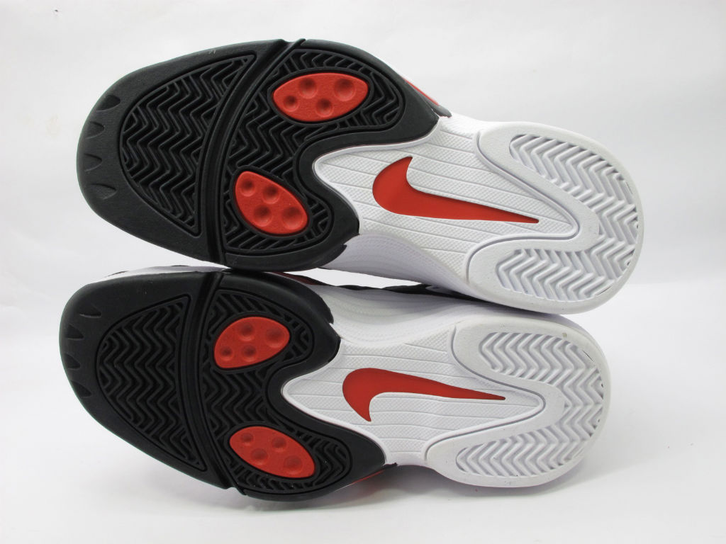 Nike Air Flight One White Black Red Chicago Bulls 538133-101 (2)