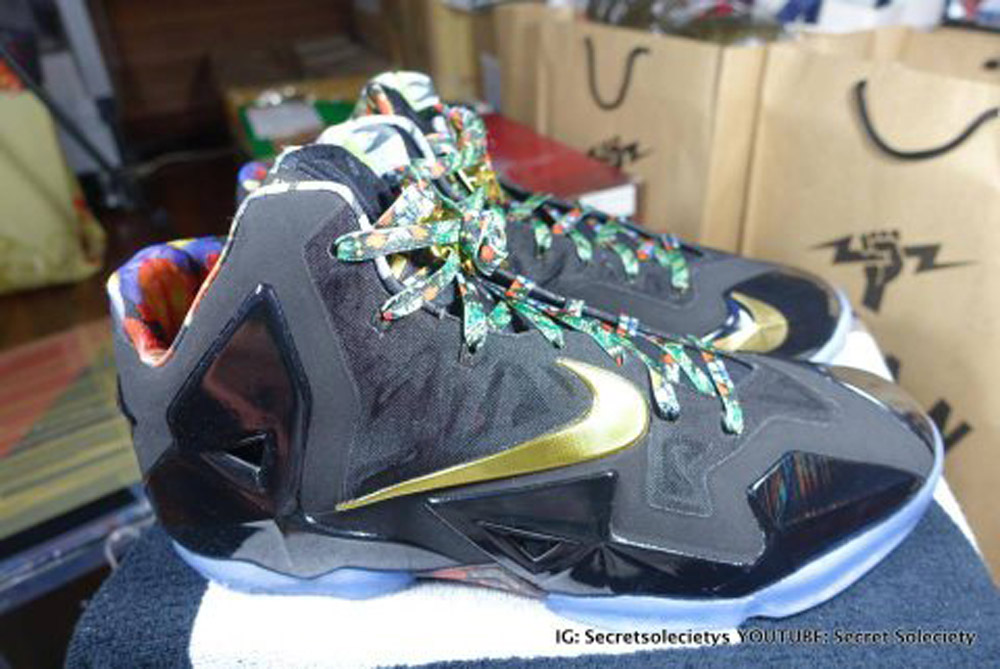 540696393dbd The concept was first introduced on the LeBron 9 in celebration of Jay Z and  Kanye West s Watch the Throne Tour.