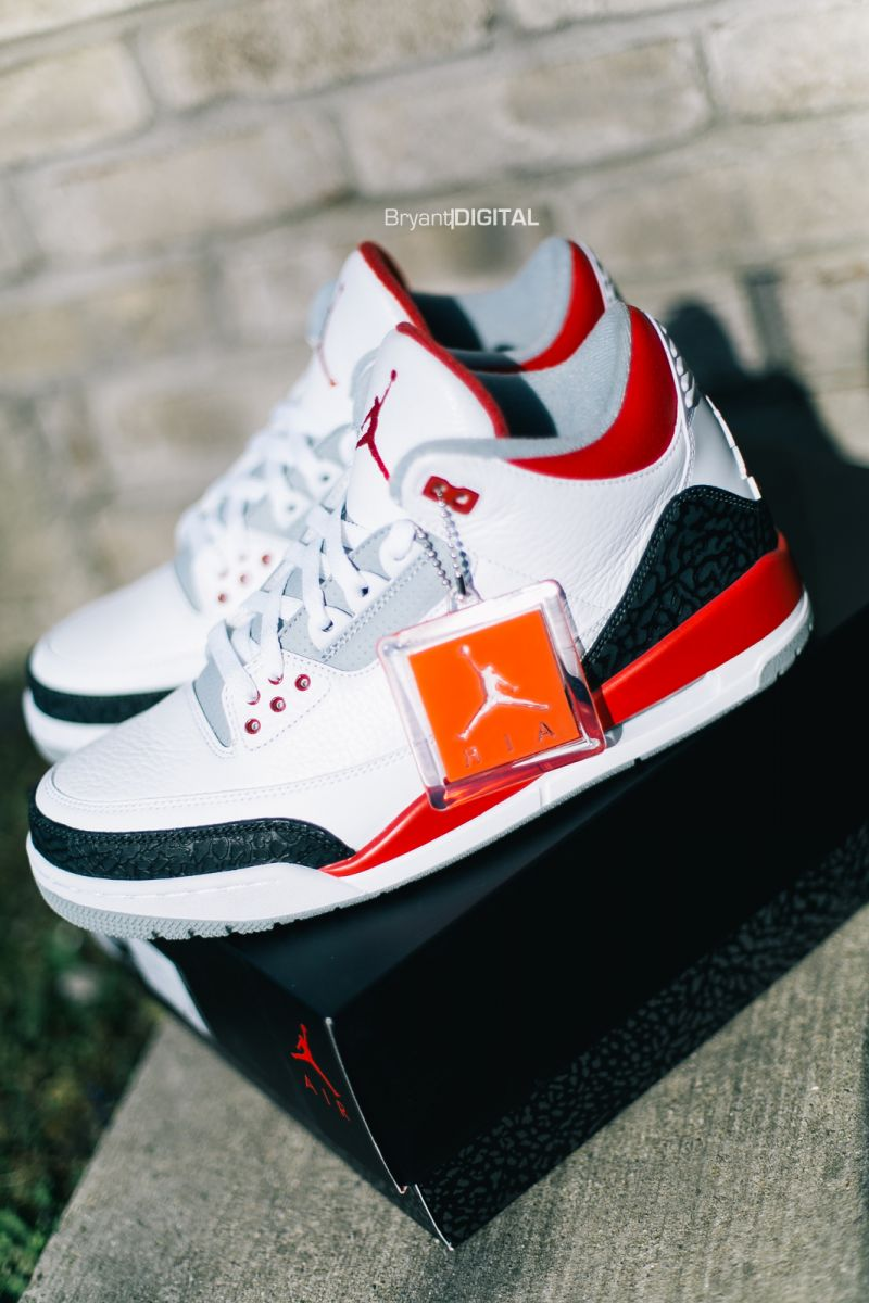 promo code 5a726 2134e Release Recap    Air Jordan 3 Retro - Fire Red