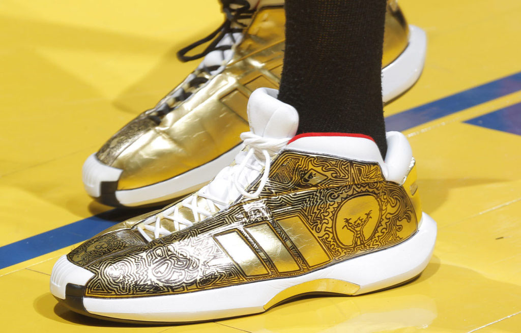 Robin Lopez wearing adidas Crazy 1 Awards Season Custom