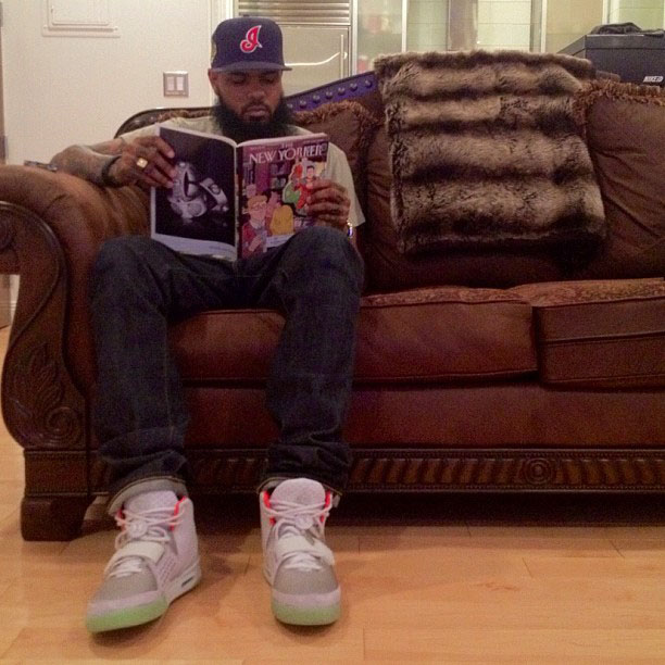 Nike Air Yeezy II 2 - Stalley