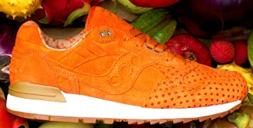 Saucony Shadow 5000 Grid Burnt Orange/White