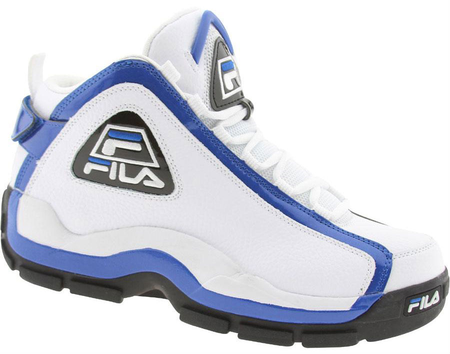 FILA 96 Grant Hill White Blue Black 1VB90031-162 (2)