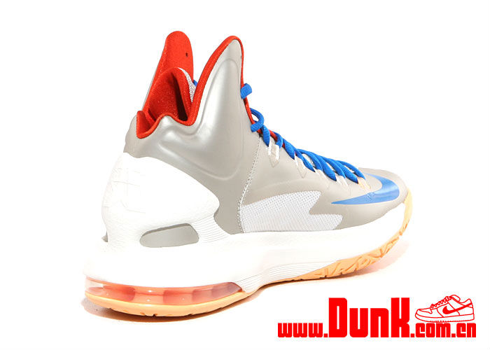 Nike KD V Birch Photo Blue Sail Team Orange 554988-200 (5)