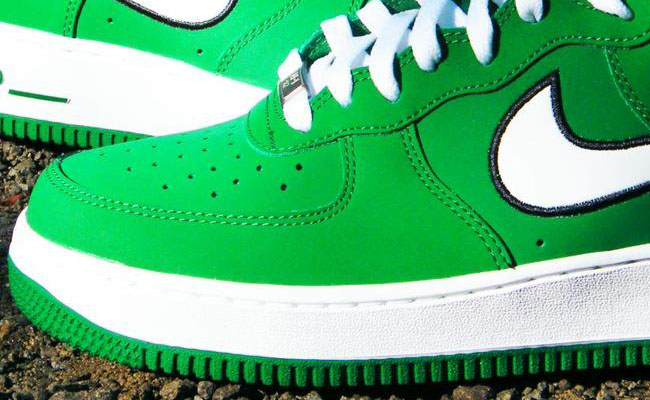 new concept 0808d 629f2 Nike Air Force 1 High Pine Green White 315121-301 (3)