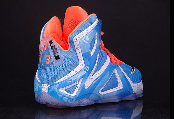 5a6a00fa784 Find Mens Nike LeBron 12 Elite Sky blue Basketball shoes